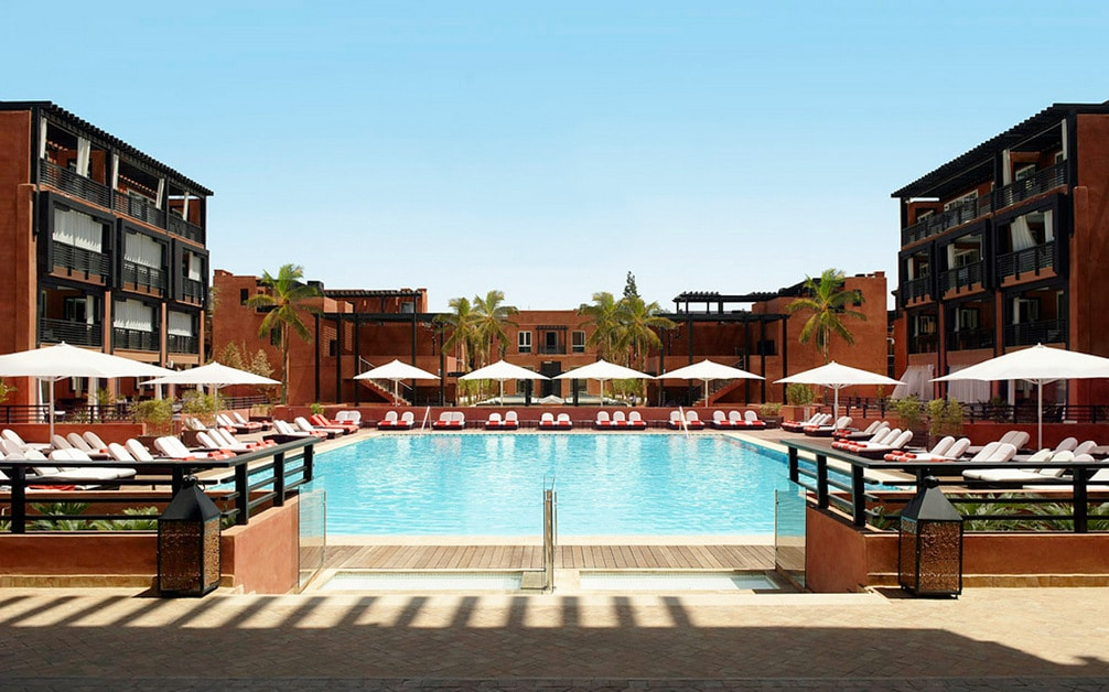 Hotel Naoura Barriere En Marrakech