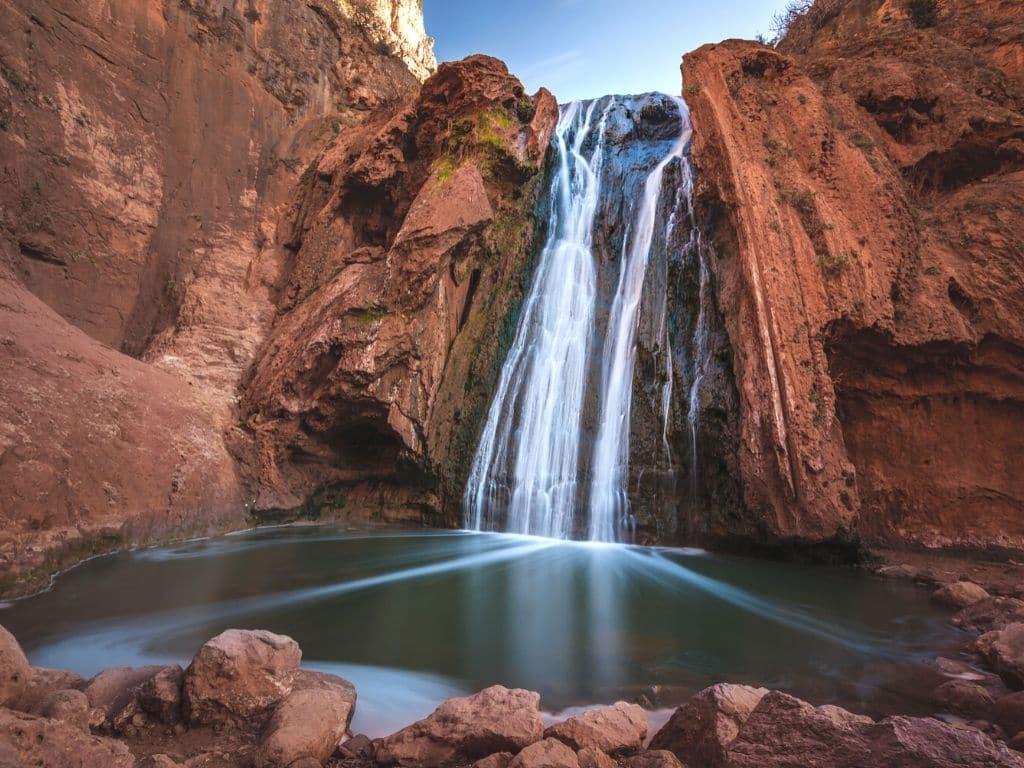 Parque Nacional de Jenifra Marruecos