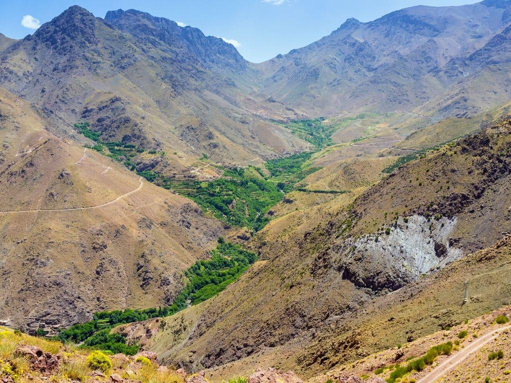 Parque Nacional del Toubkal Marruecos