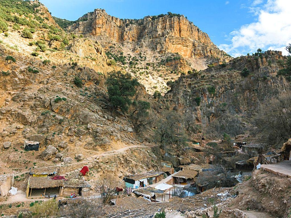 Parque nacional Aguelmam Azigza Marruecos