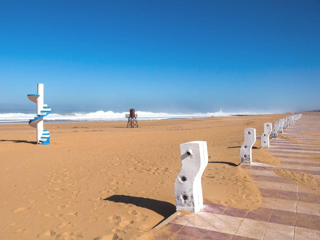 Playa Beddouza Marruecos