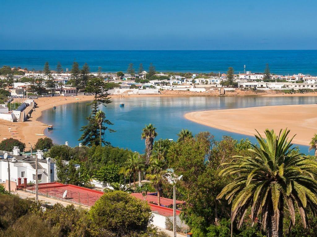 Playa Oualidia Marruecos