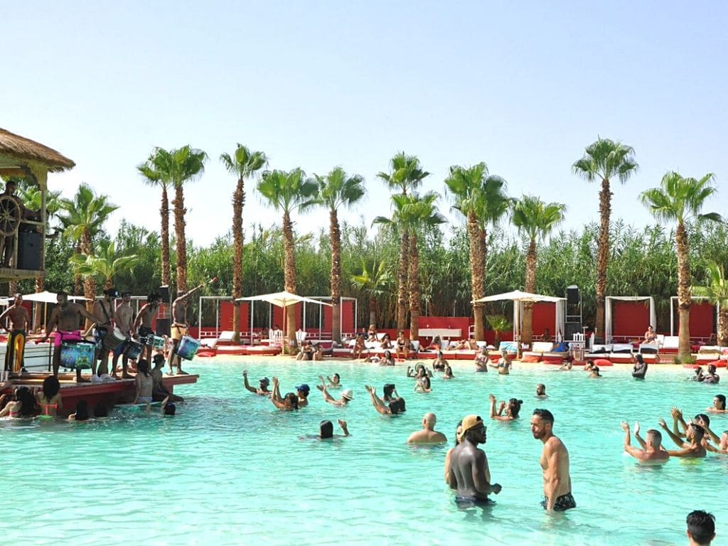 Playa Plage Rouge Marrakech Marruecos