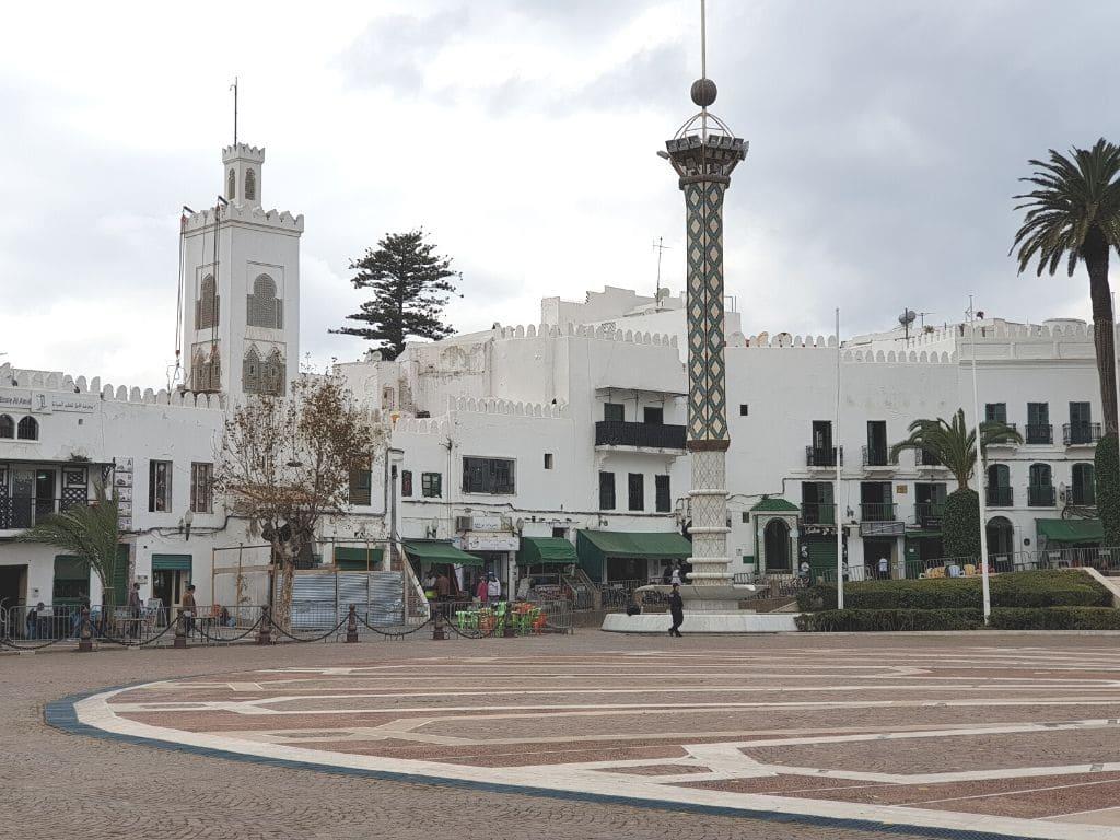 Plaza Hassan II en Tetuan