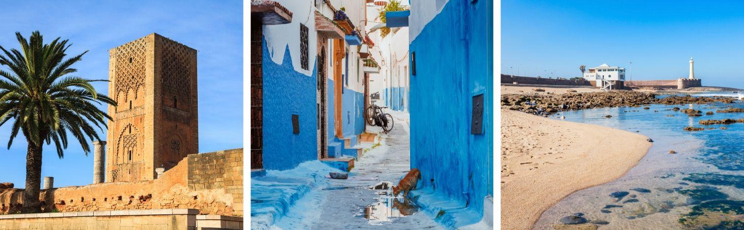 Rabat, la capital de la región