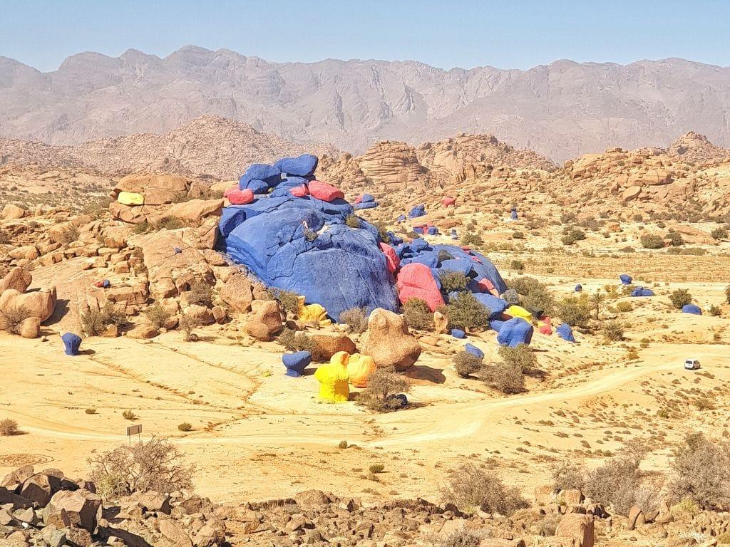 Rocas Pintadas en Marruecos