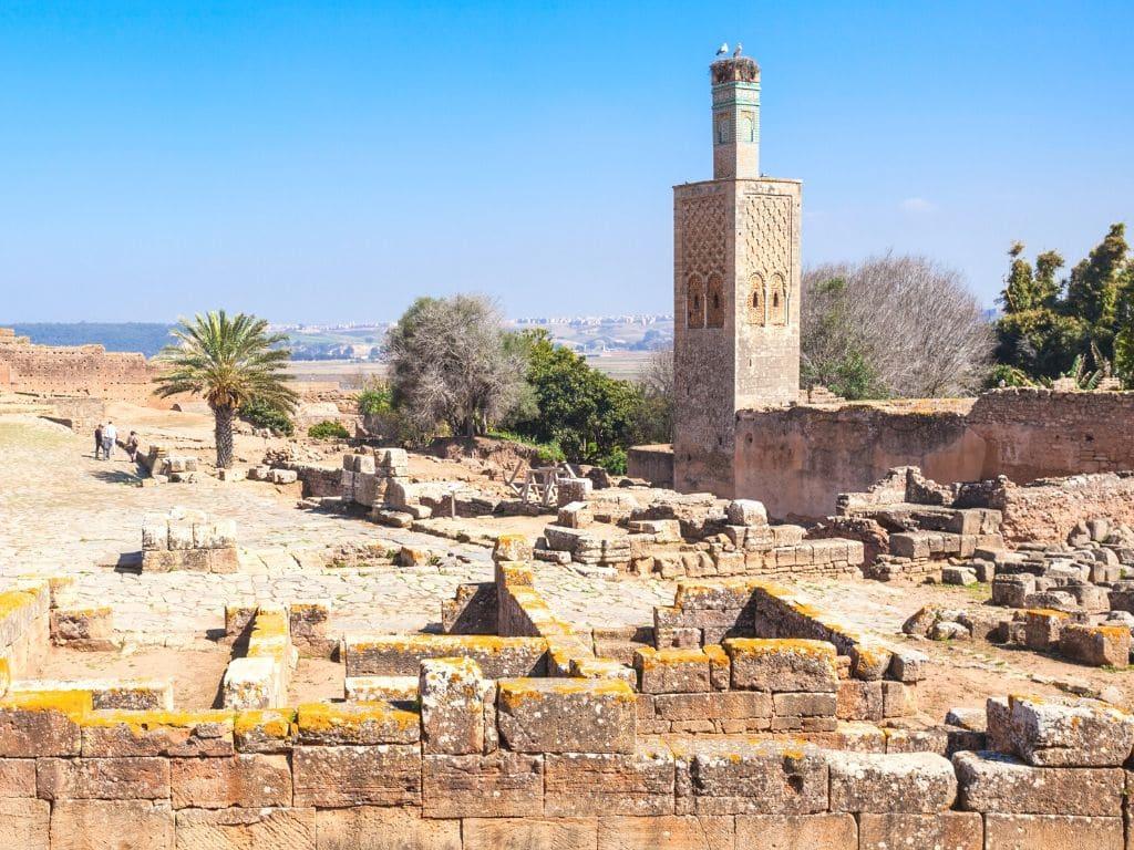 Ruinas de Chellah en Rabat Marruecos