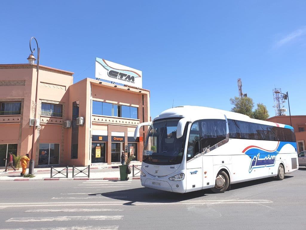 Transportes en Ouarzazate