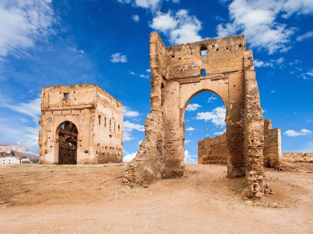 Tumbas de Merenid en Fez Marruecos