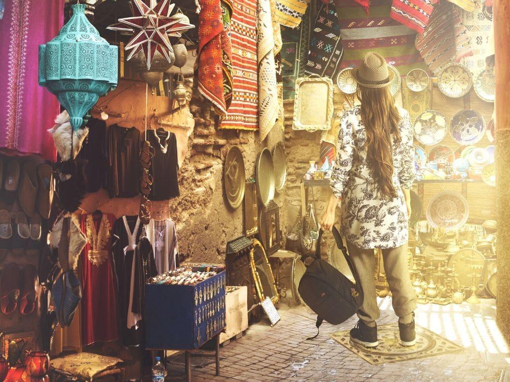 Turismo de Compras en Marruecos