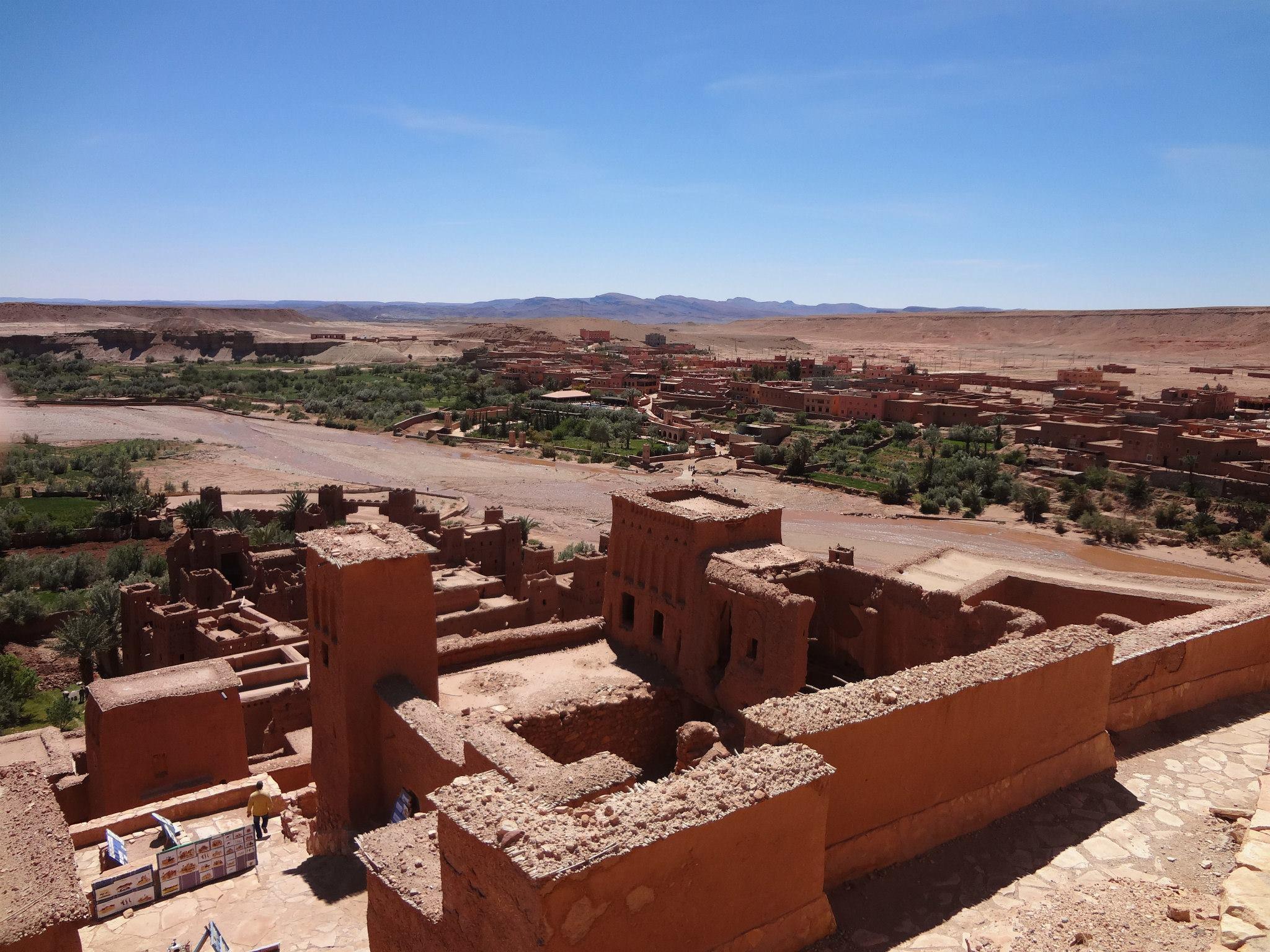 Vista de Ait Benhaddou