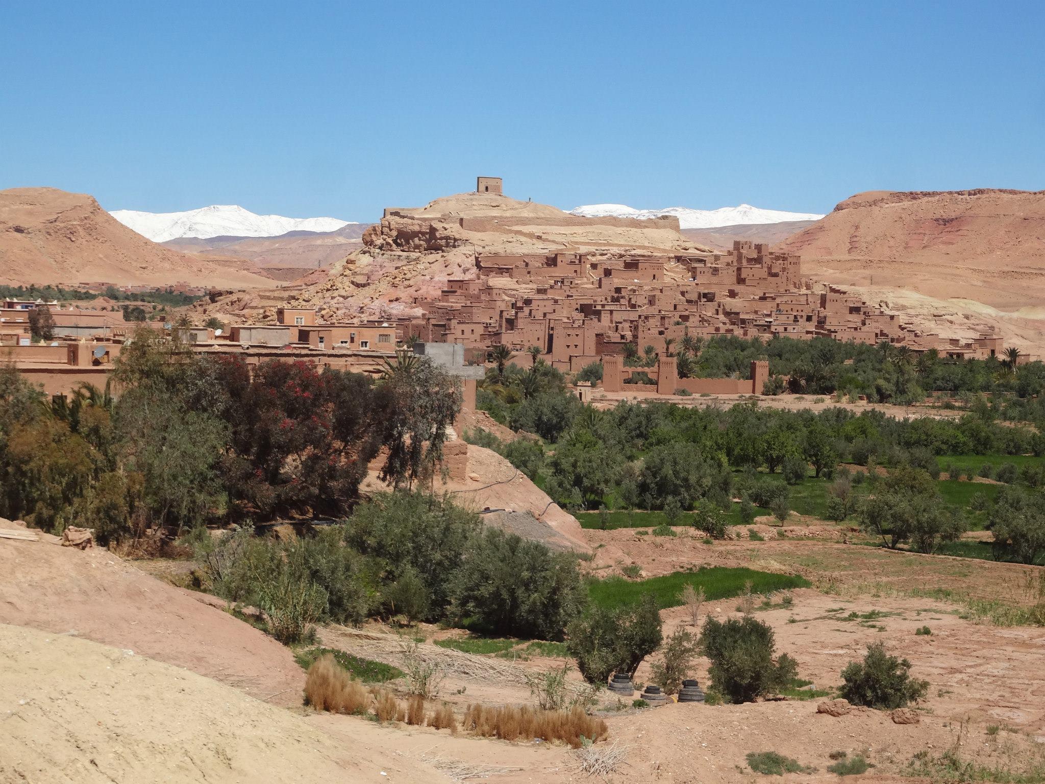 Ksar Ait Benhaddou en Marruecos