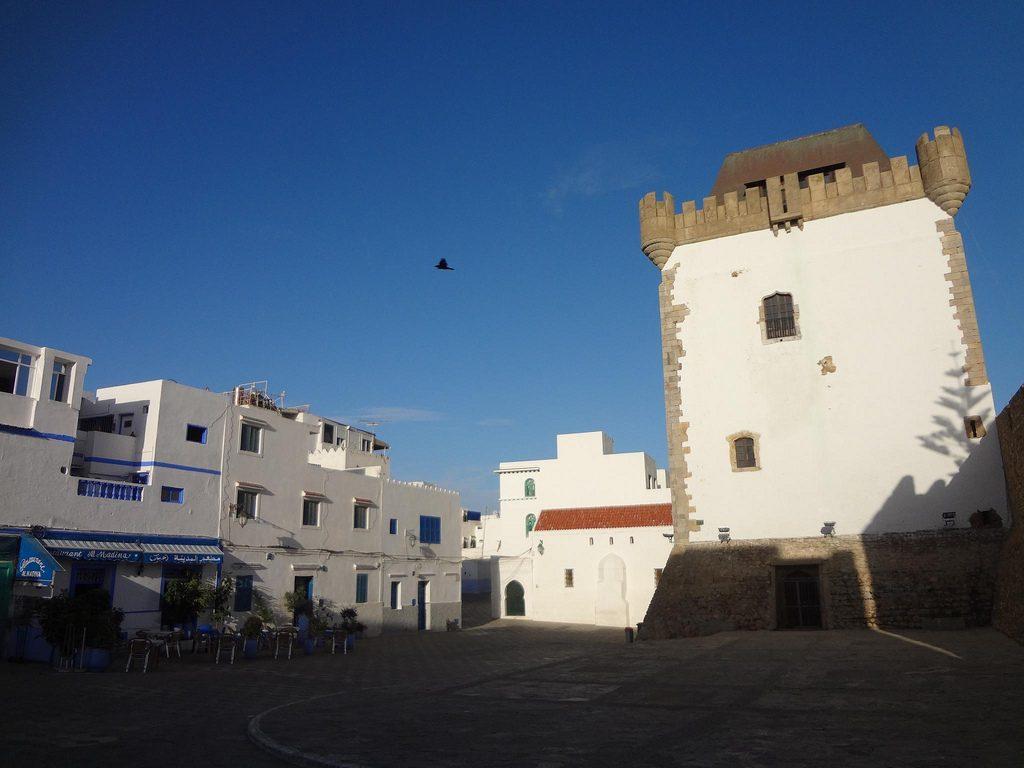 Castillo De Asilah En Marruecos