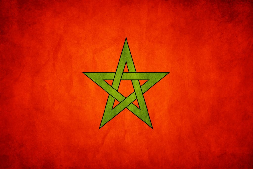 La bandera de Marruecos a través de la historia