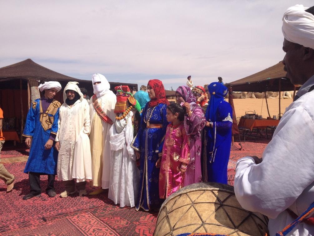 Boda En El Desierto De Marruecos