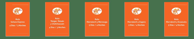catálogos de paquetes de viajes a Marruecos
