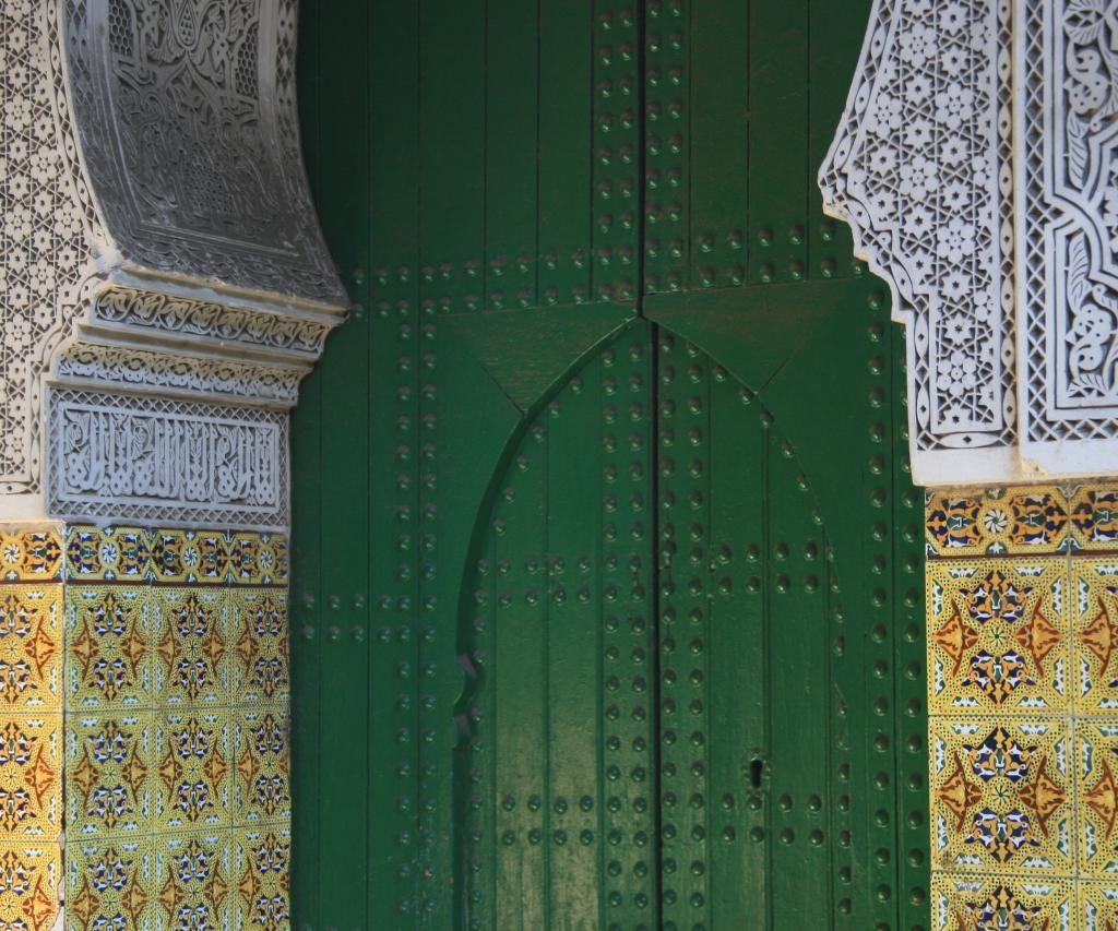 Decoración De Una Puerta En Marruecos