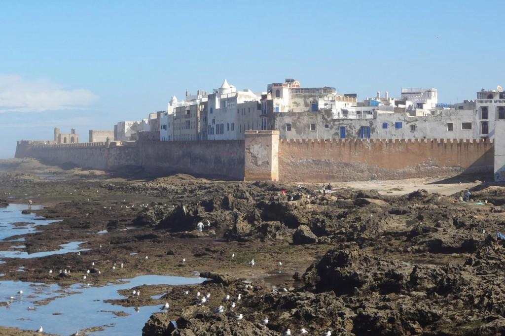 Ciudad de Essaouira en Marruecos