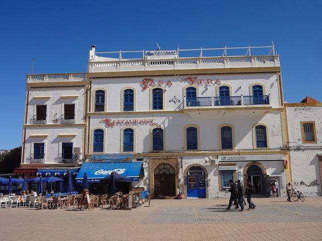 Centro De Essaouira En Marruecos