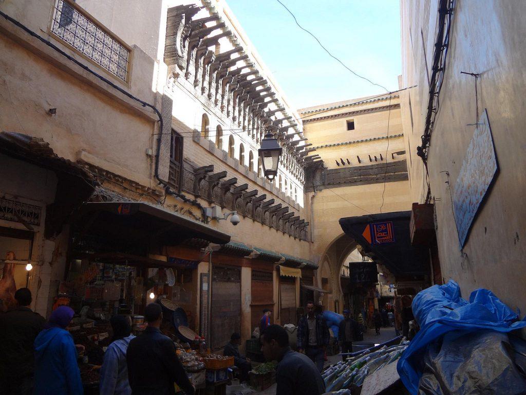 Medina De La Ciudad De Fez En Marruecos