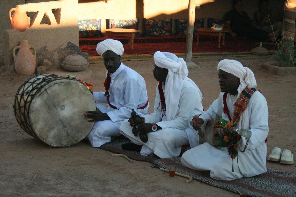 Musicos Gnawa de Marruecos