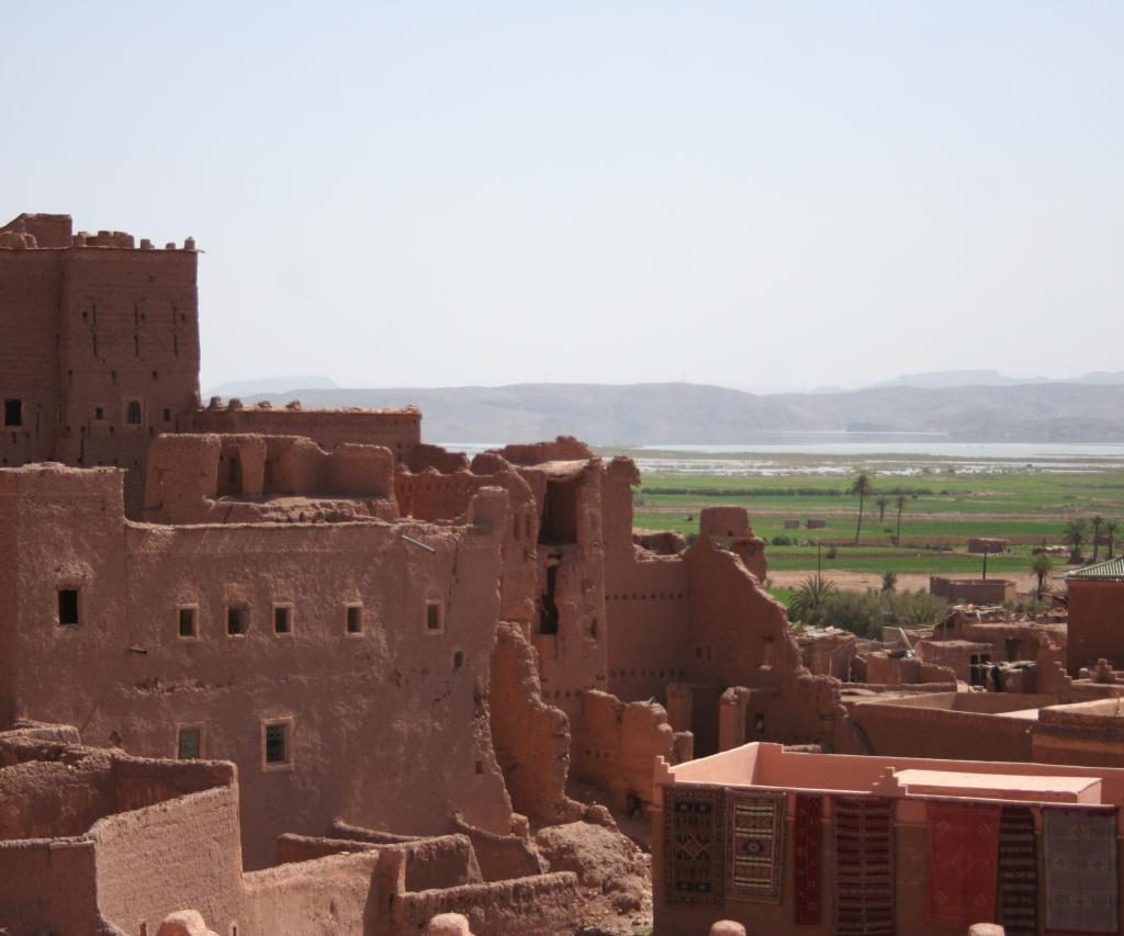Vista Desde La Kasbah De Taourirt En Ouarzazate