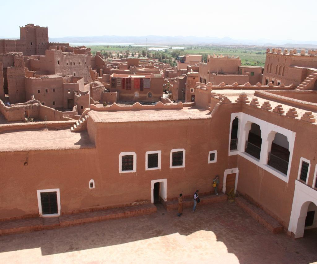 Patio Central De La Kasbah De Taourirt En Ouarzazate