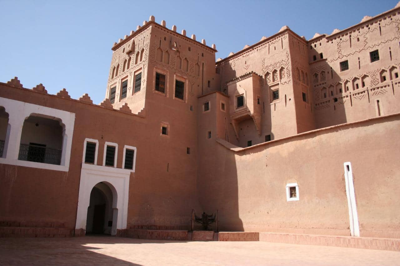 Kasbah Taourirt en Ouarzazate Marruecos