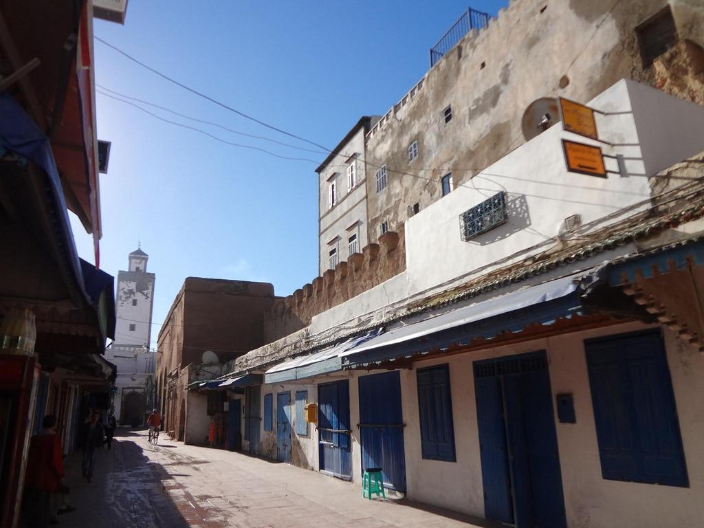 Medina de la ciudad de Essaouira en Marruecos