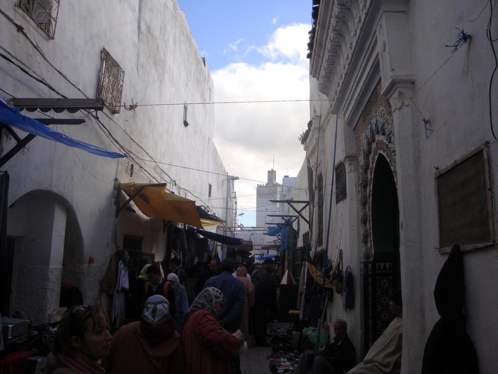 Medina de la ciudad de Tetuan en Marruecos