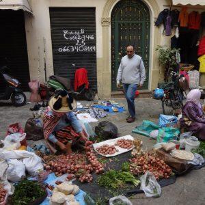 Mercado Dentro De La Medina De Tanger
