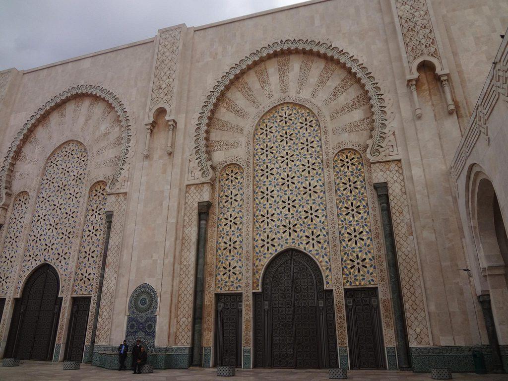 Decoracion De La Mezquita Hassan II En Casablanca