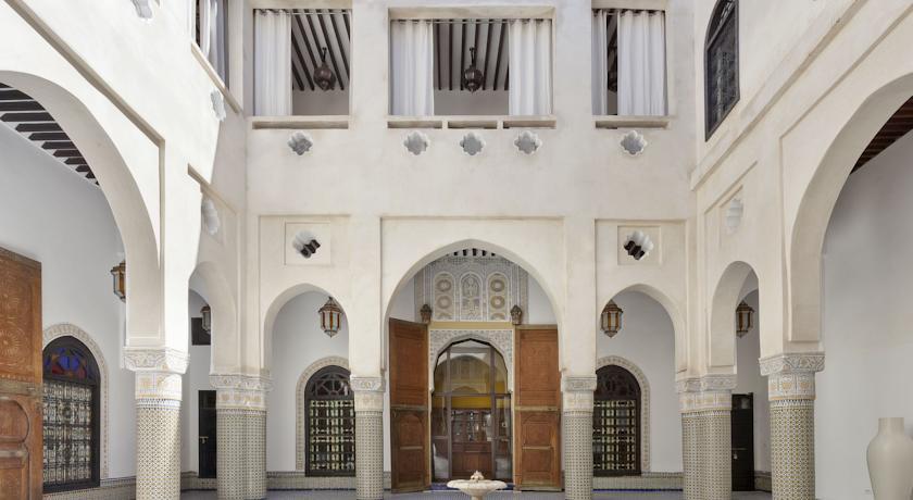 Riad Palais Bahiaen Fes