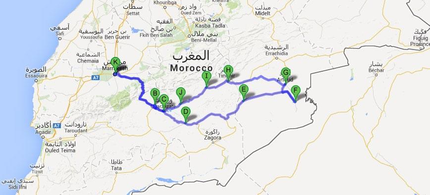 Ruta Desierto del Sahara 7 días
