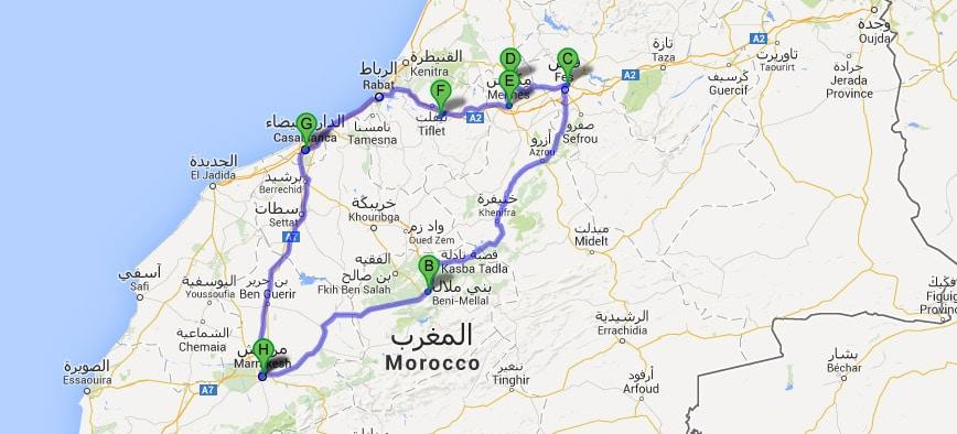 Ruta Ciudades Imperiales 8 días