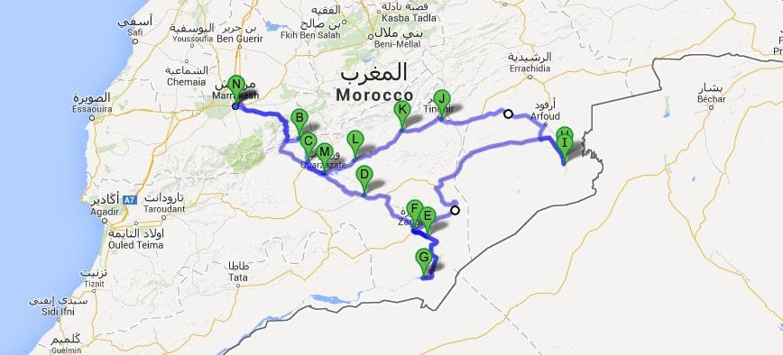 Ruta Desierto del Sahara Profundo