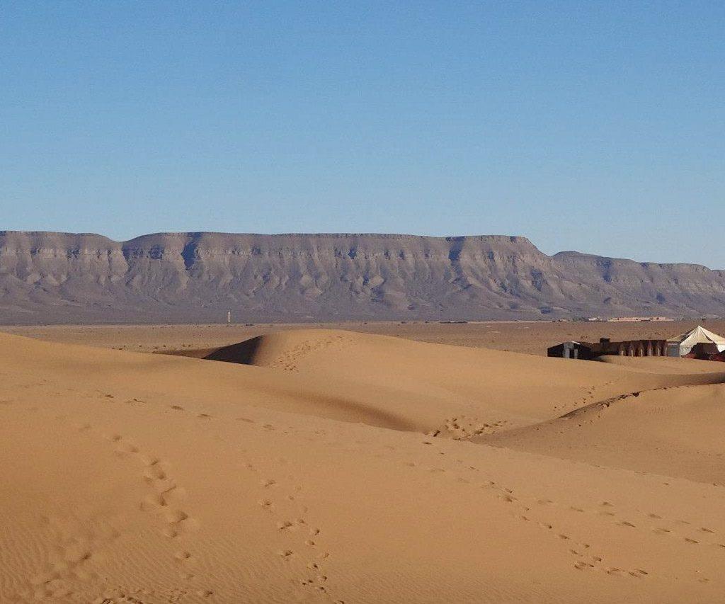Dunas De Zagora En Marruecos