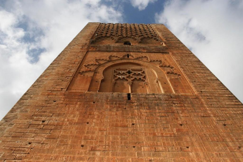 Torre Hassan II en Rabat