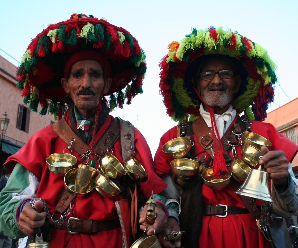 Los Vendedores De Agua De Marruecos